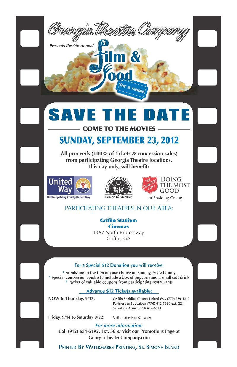 PIE Film and Food for a cause