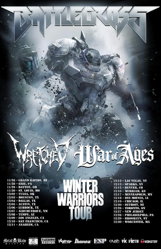 Battlecross tour dates announced