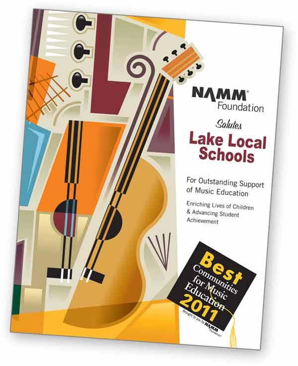 NAMM Salutes Lake Local Schools