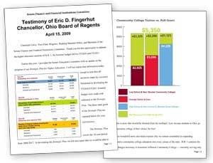 Fingerhut's College Affordability Testimony