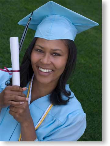 African-American Female Graduate