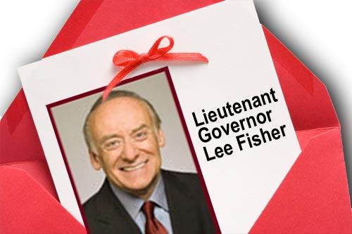 Lee Fisher Invitation