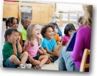 Preschool Kids in Classroom