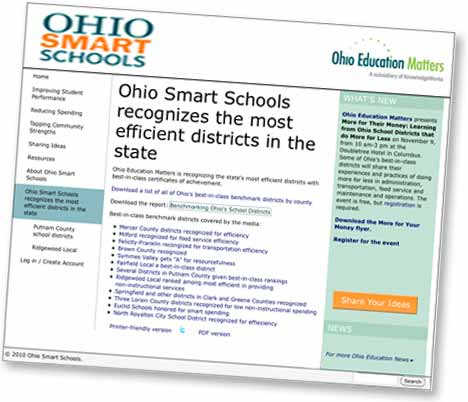 Ohio Smart Schools Website