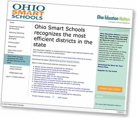 Ohio Smart Schools Website