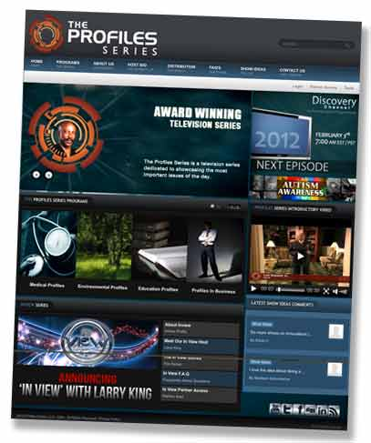 Discovery Profile Series Website