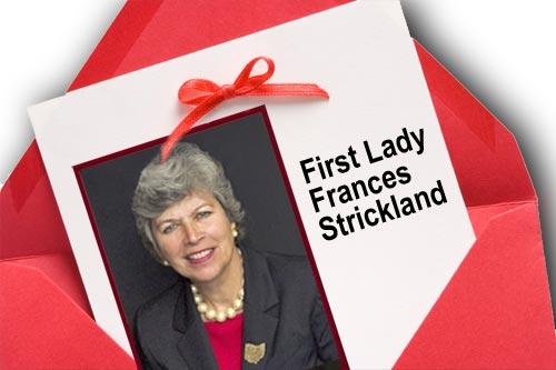Frances Strickland Invitation