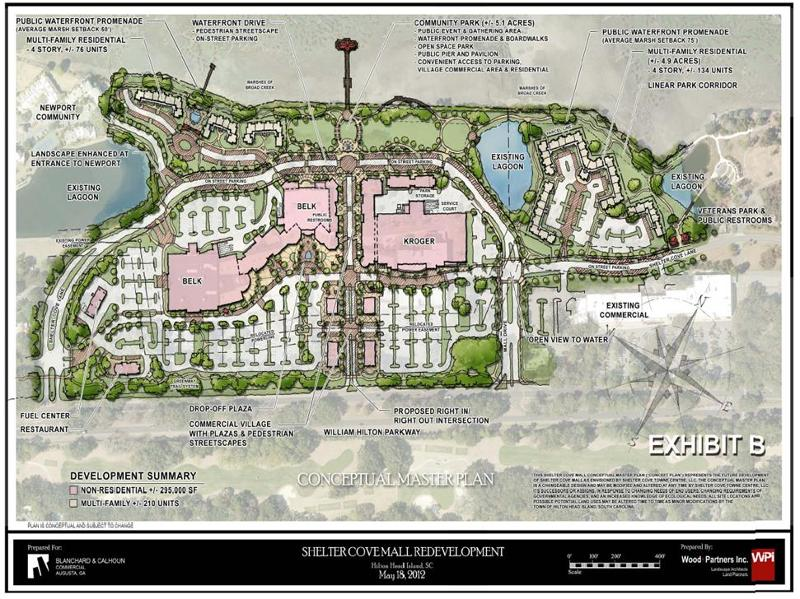 Click on Photo to See Future Plans for Mall in Shelter Cove