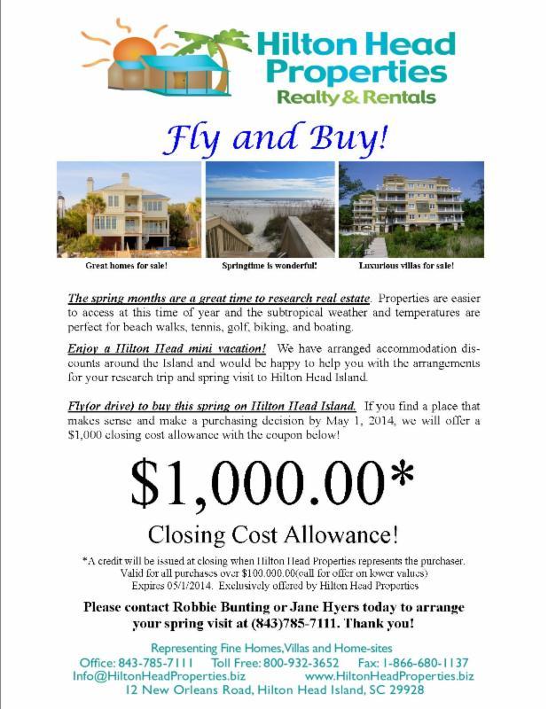 Hilton Head Fly and Buy