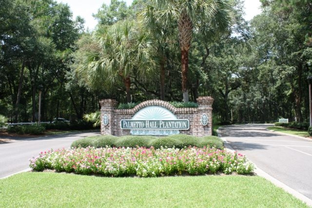 Palmetto Hall Front Gate
