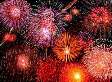 Where to watch july 4 fireworks on Hilton Head Island?