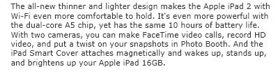 iPad2 description