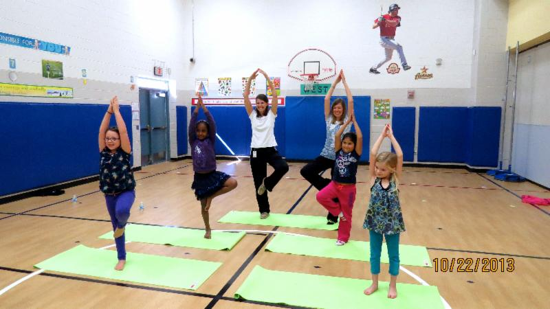 The Oyster Creek Elementary Yoga Club Is A Pilot Program