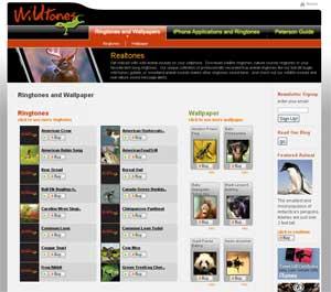new ringtones page