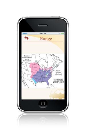 woodpecker range map