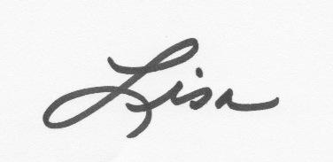 my signature Lisa