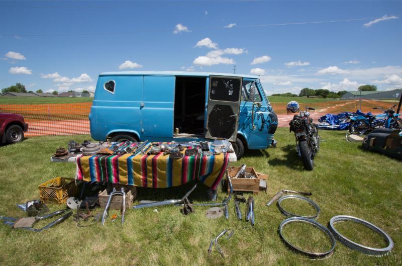 2016 Vintage Rally Vendor