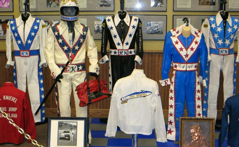 Vintage Evel Knievel In His: Ride And Read! NEWS By Madness Photography