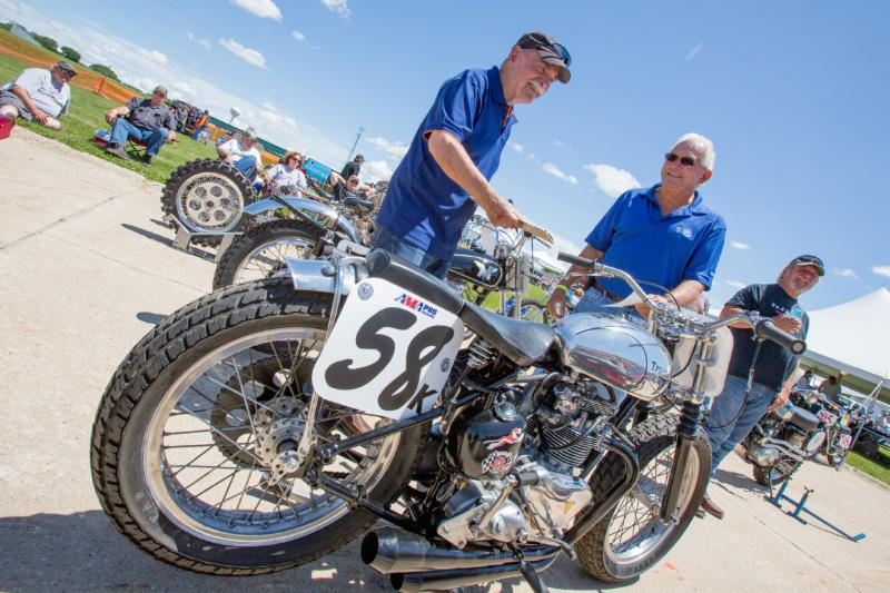 Vintage Rally 2016 Bike Show Judging