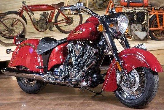 Indian 2012 Rafflebike