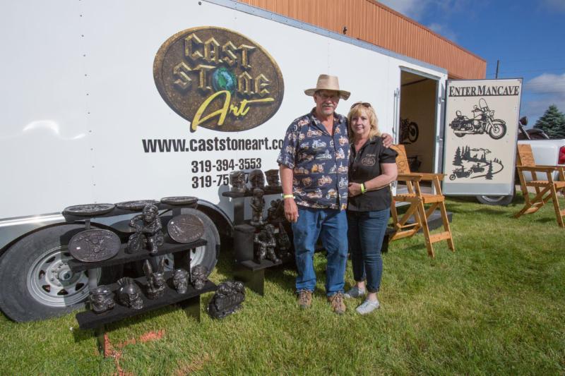 Cast Stone Art 2016 Vintage Rally Vendor