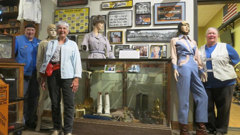 Motor Maids Loaned Helen Kiss Main memorabilia