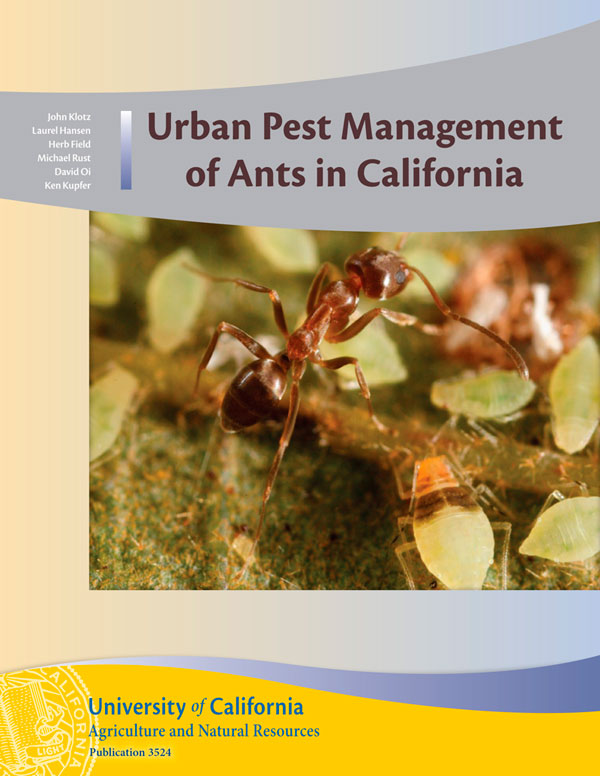 Urban Pest Management of  Ants Cover
