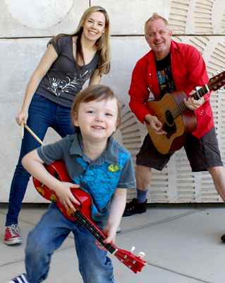The Nap Skipper, Rustad Family Band plays family music in Tucson