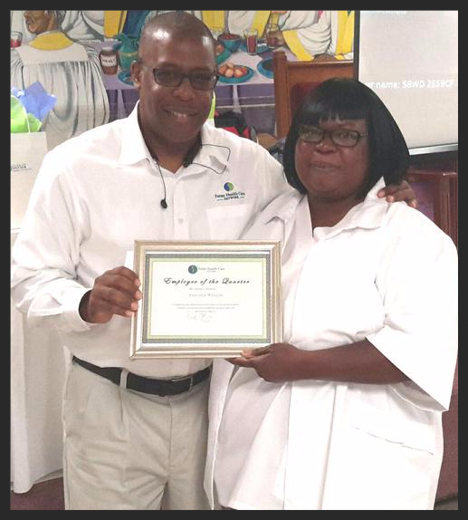 rjpettiford and laevate nelson 2nd quarter employee