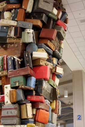 pile of baggage