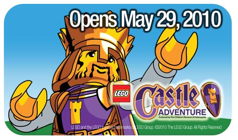 LEGO Castle Adventure Opens May 29, 2010