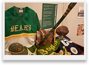 100 Years of Baylor Homecoming Exhibit Photograph 1