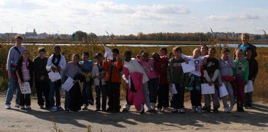 Brickett School Students