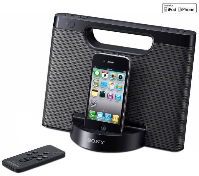 iPod and Speaker Dock