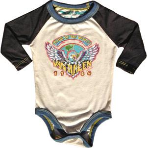 Van Halen Baby Clothes