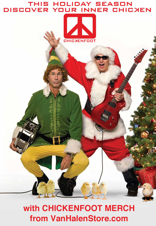Chickenfoot Christmas Gifts