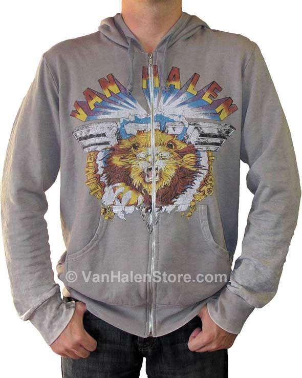 Men's Vintage Lion Hoodie