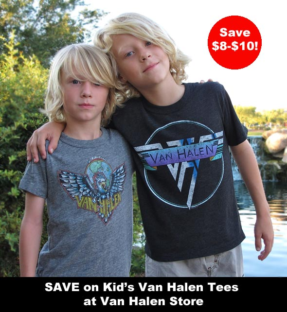Save on Children's VH Tees