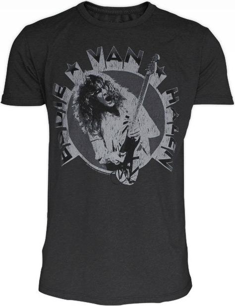 0fd23ff8dd Eddie Van Halen Premium T-Shirts by Trunk Ltd.   Van Halen News Desk
