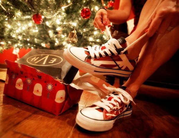 EVH Shoes for Christmas