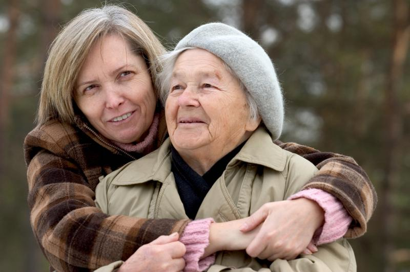 Mom & Daughter