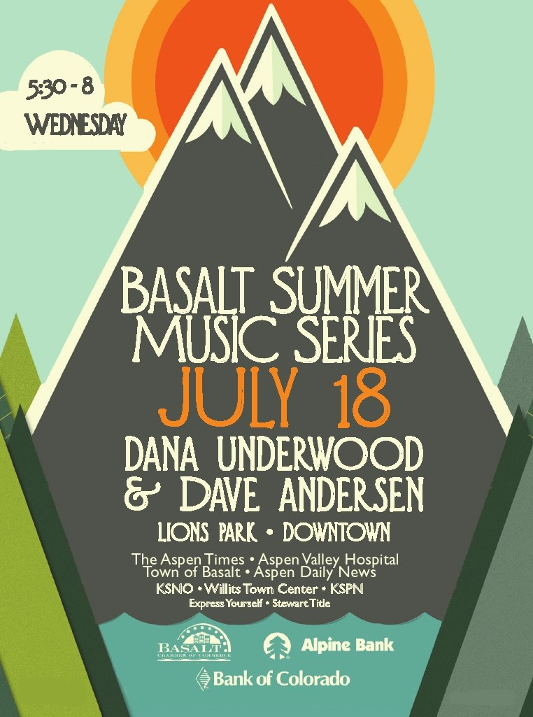 Basalt Chamber Summer Music Series TONIGHT in Lions Park, 5:30-8 PM