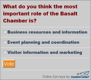 Click here to participate in The Basalt Chamber Survey of the week