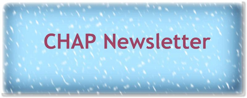 CHAP newsletter winter