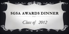 SGSA Awards Dinner 2012