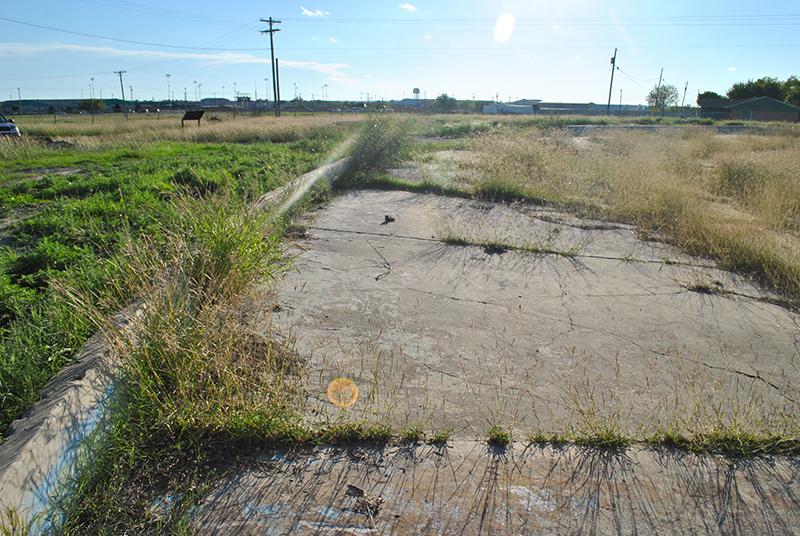 Ruins of camp swimming pool_ Crystal City