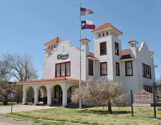 The Quanah, Acme & Pacific Railroad Depot