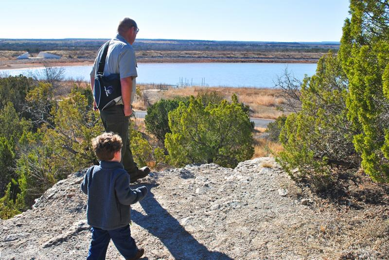 Hiking at Copper Breaks State Park is a great activity for all ages!