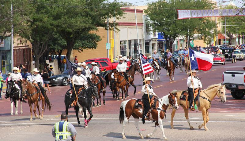 Top o' Texas Rodeo parade