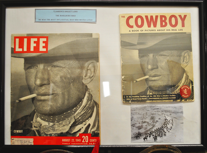 Cottle County's original Marlboro Man, Clarence Hailey Long